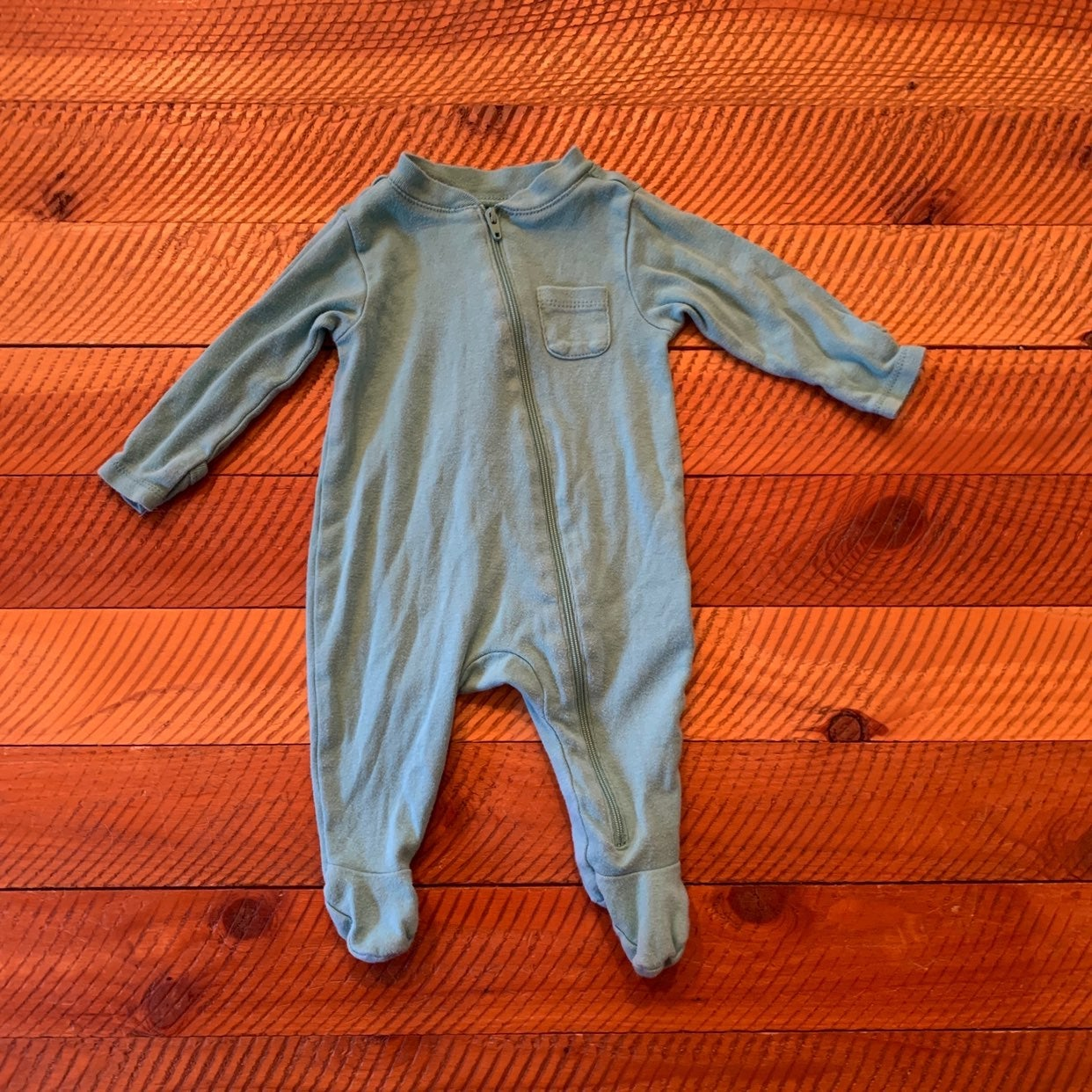 old navy footie pajamas size 0-3 months