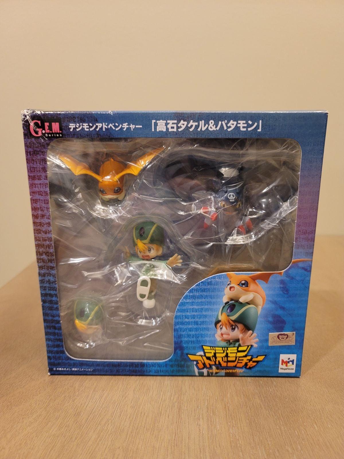 Digimon Adv. Takaichi Takeru & Patamon