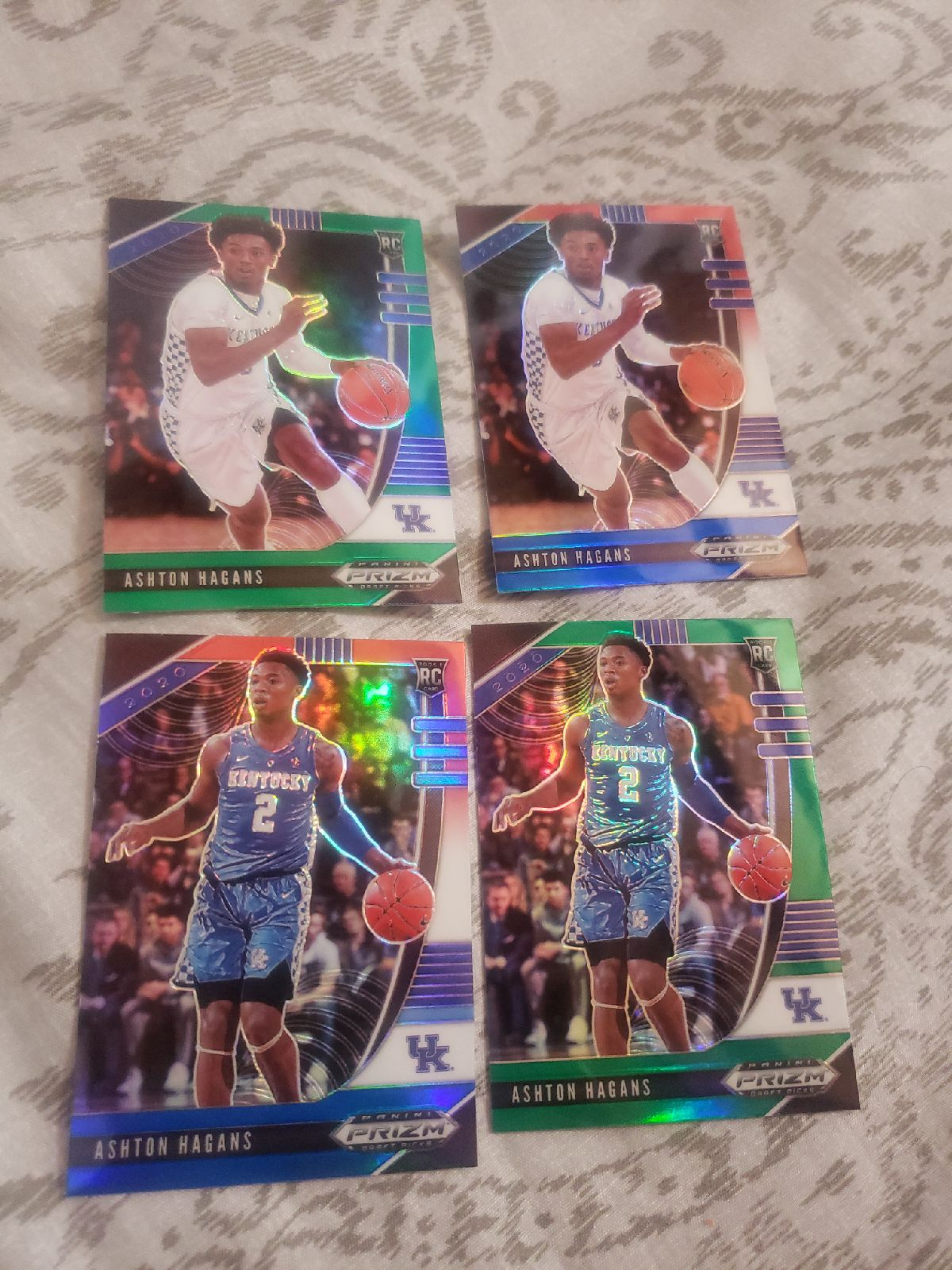 Lot of 4 Ashton Hagans
