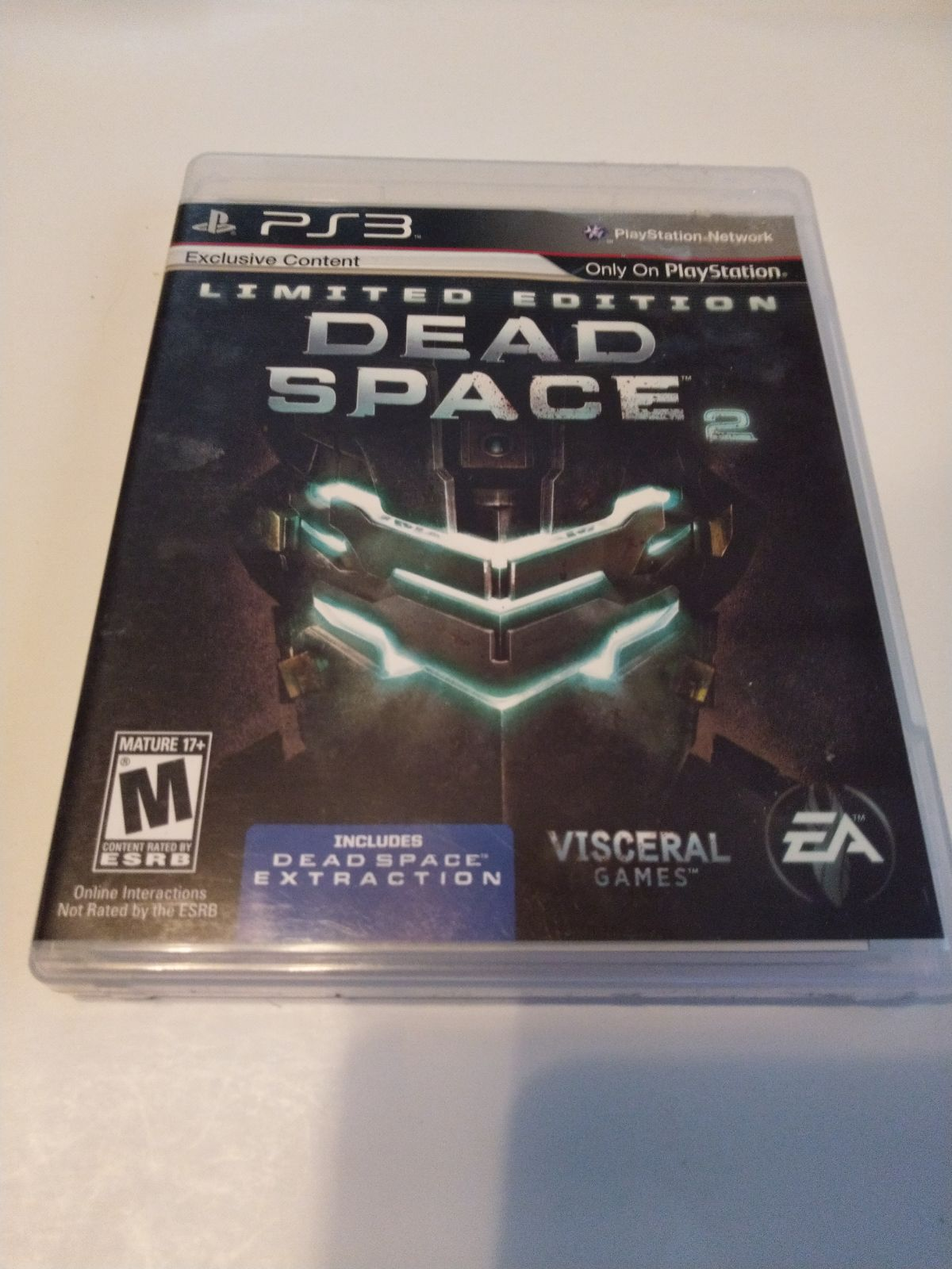 Dead space 2 limited edition ps3 complet