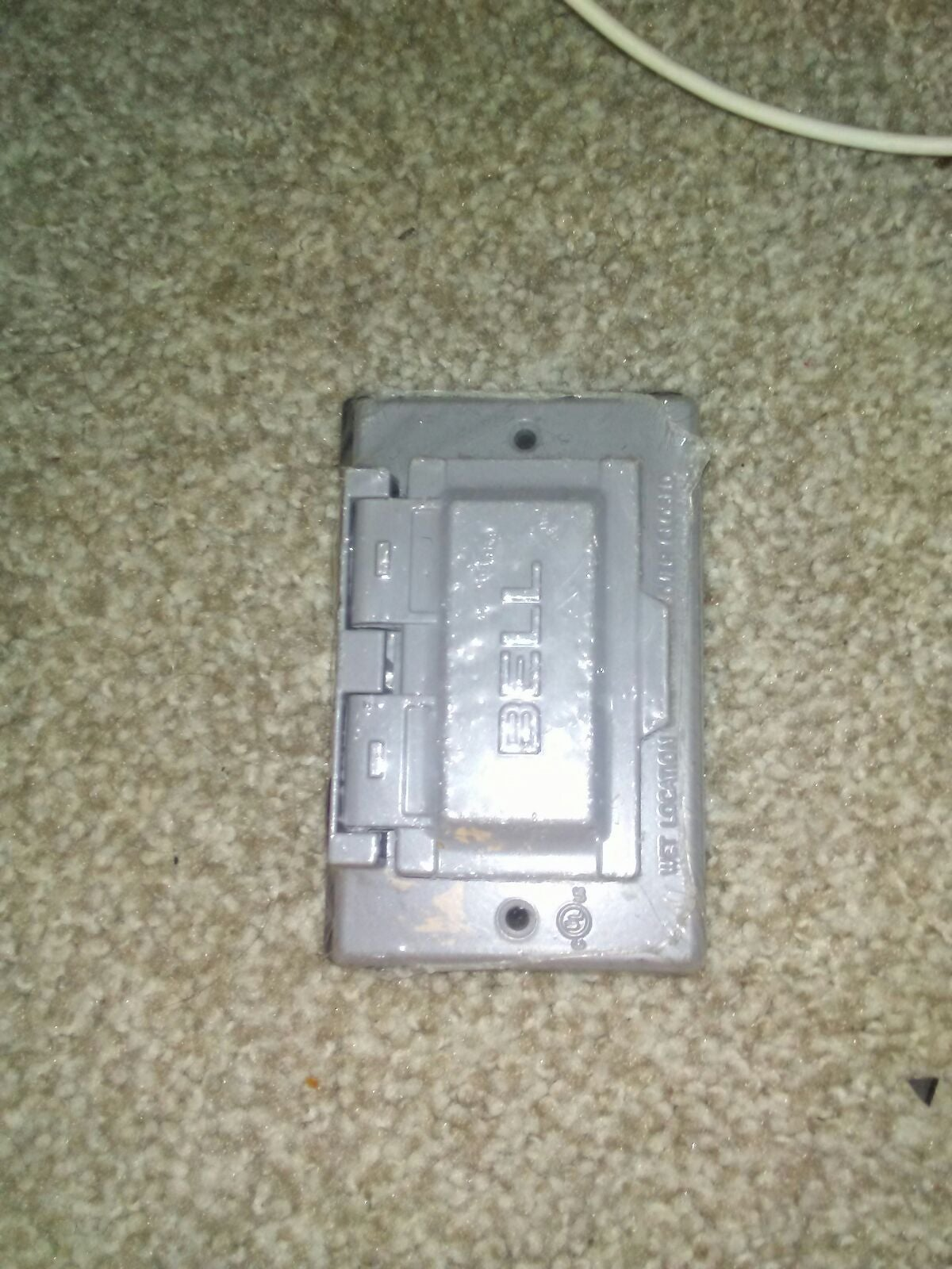 Outdoor outlet cover