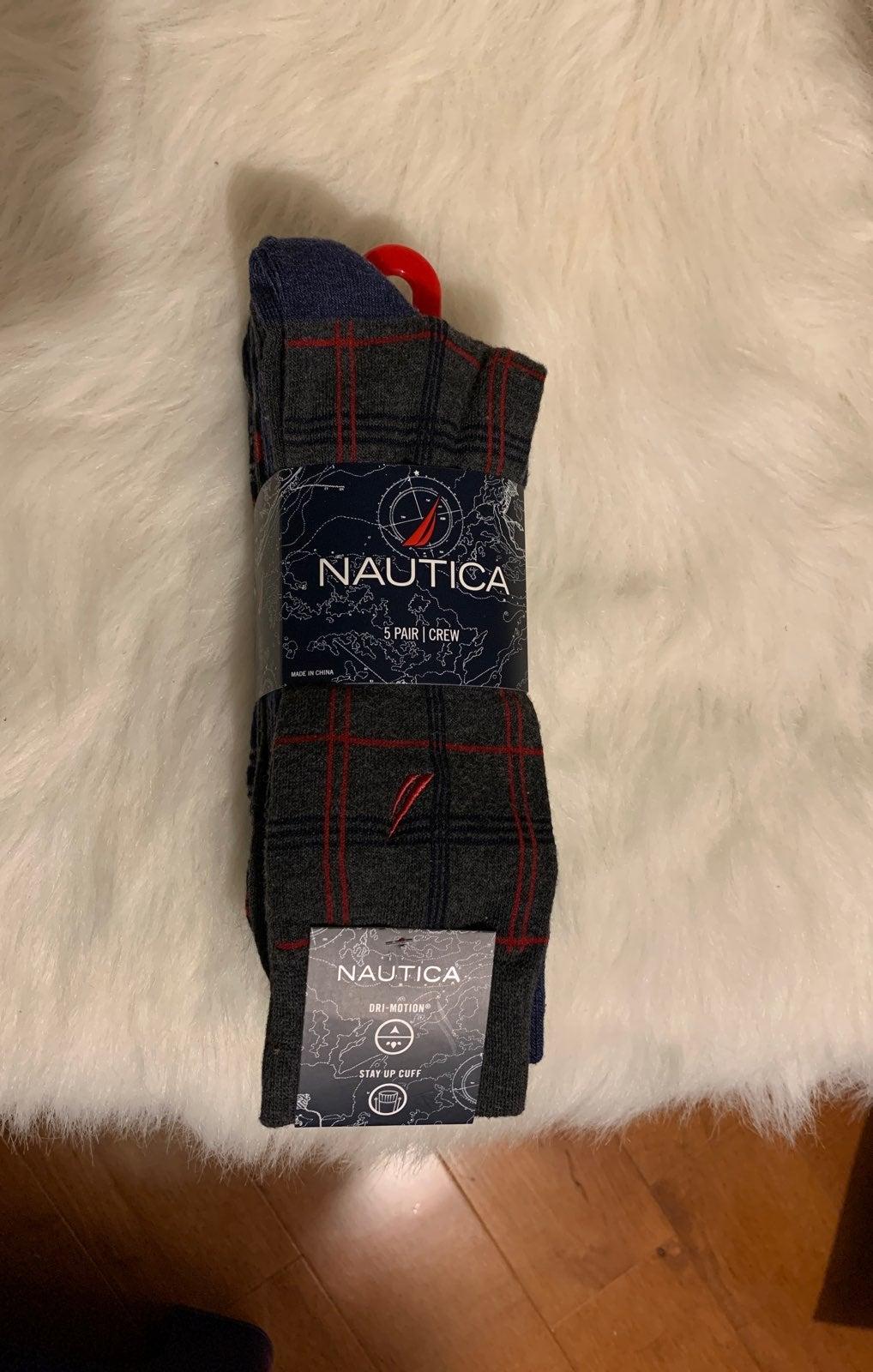 NAUTICA mens socks
