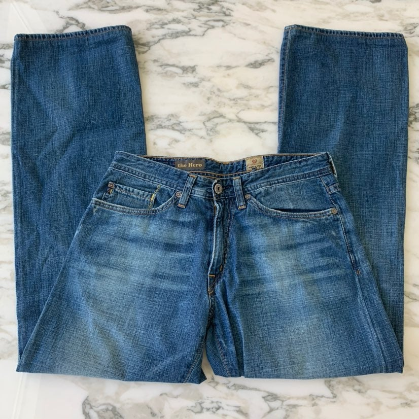 AG Medium Wash The Hero Jeans