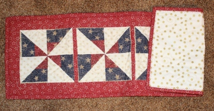 USA Table Runner - 9.5 in X 30 in