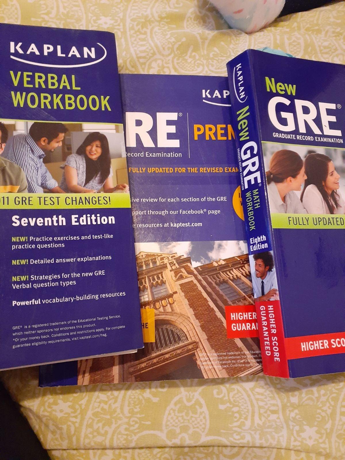 GRE Kaplan Books