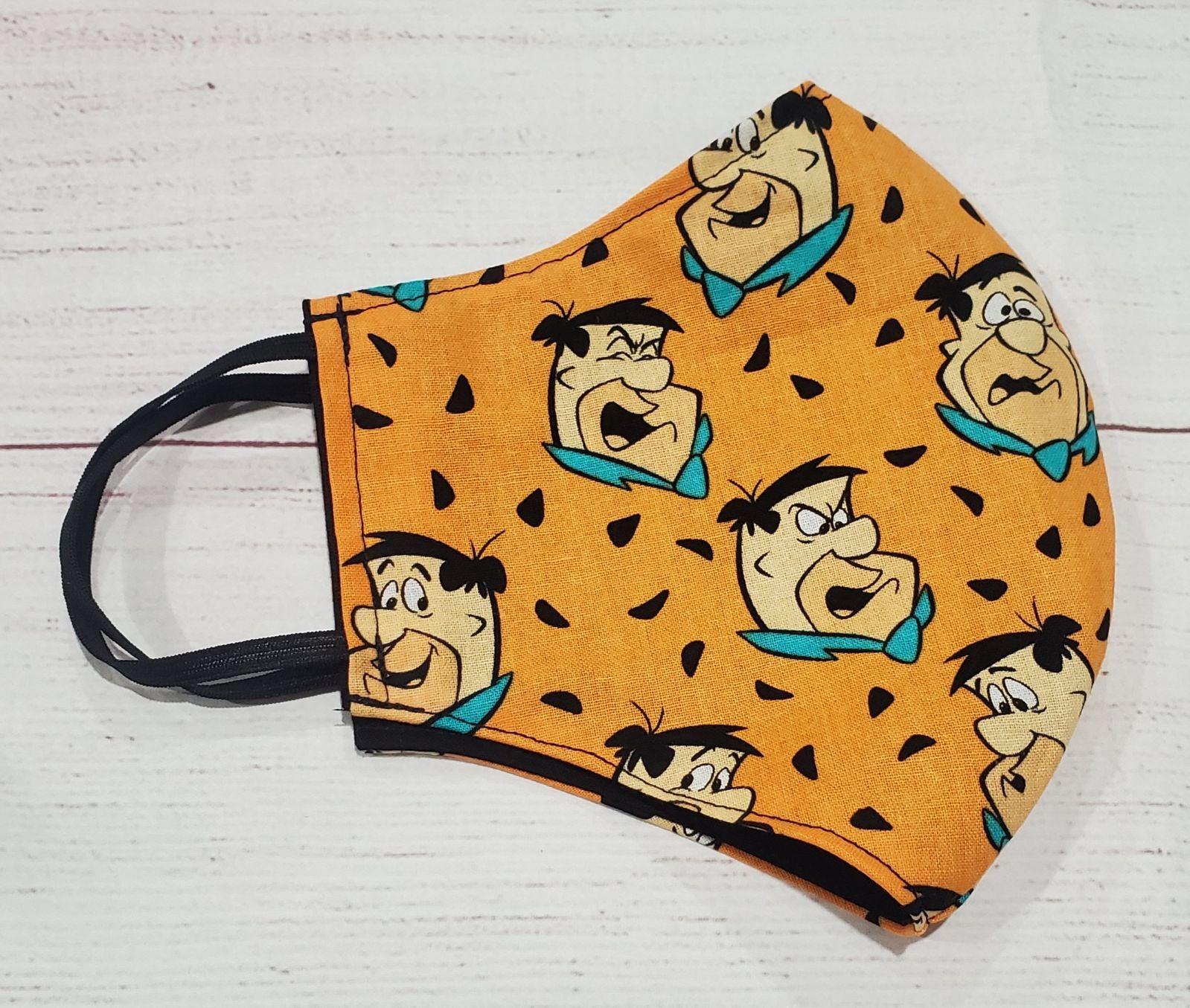 Flintstones face mask