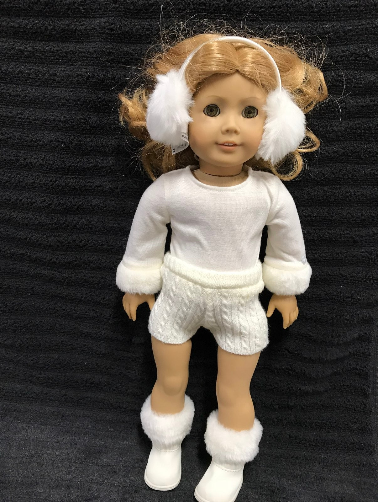 American Girl doll winter white outfit