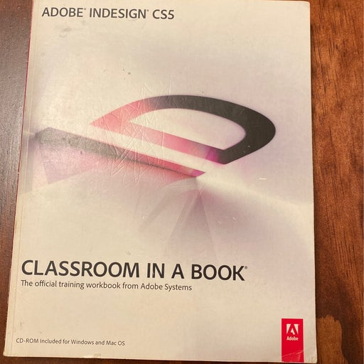 ADOBE INDESIGN CLASSROOM IN A BOOK.