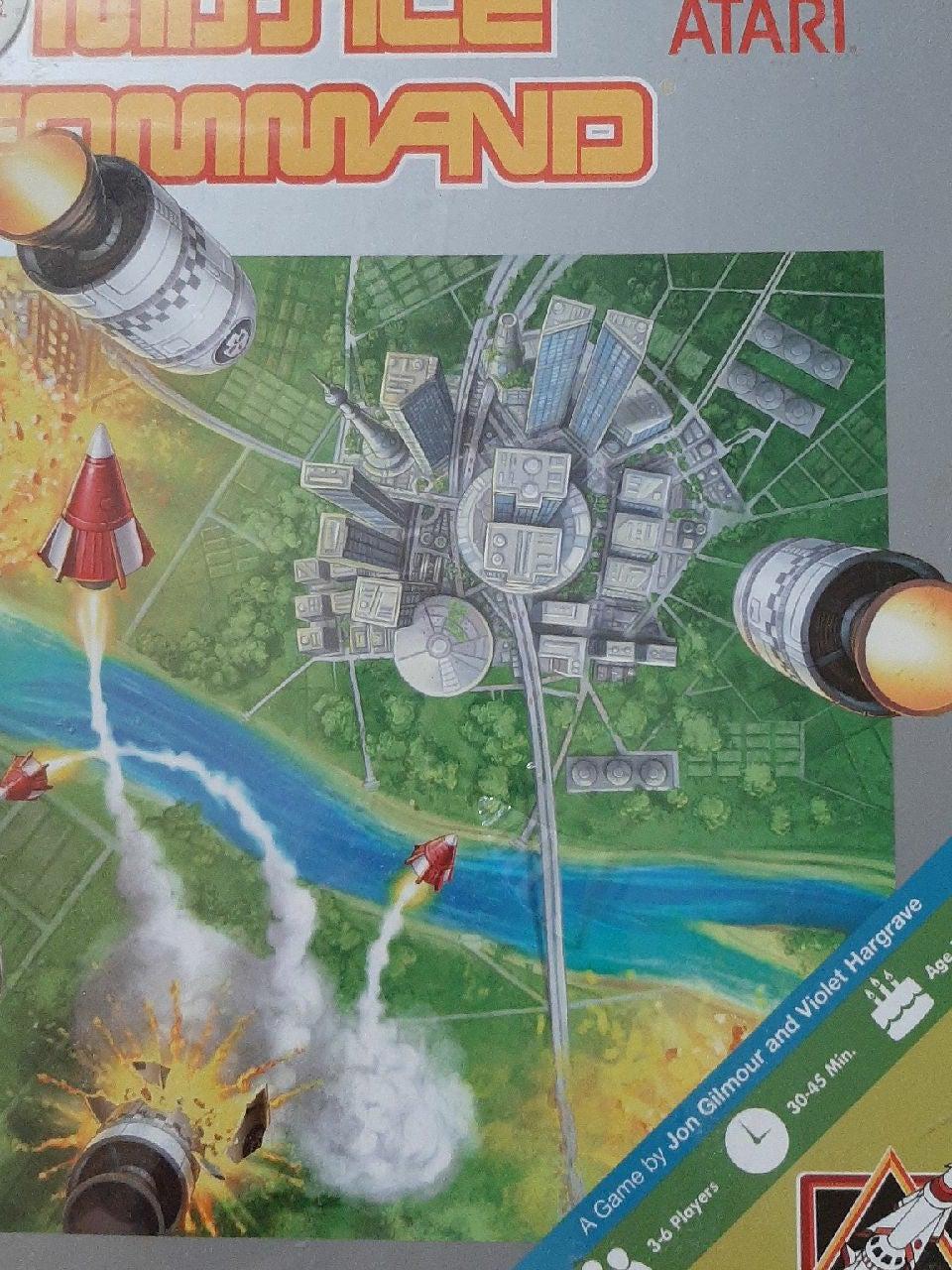 Atari Missile Command board game