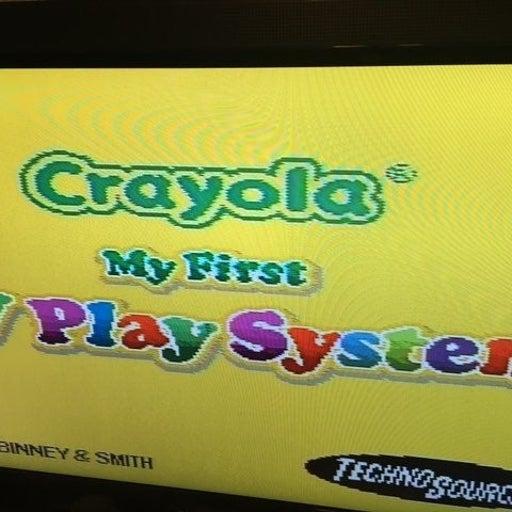 Crayola My First TV Play System