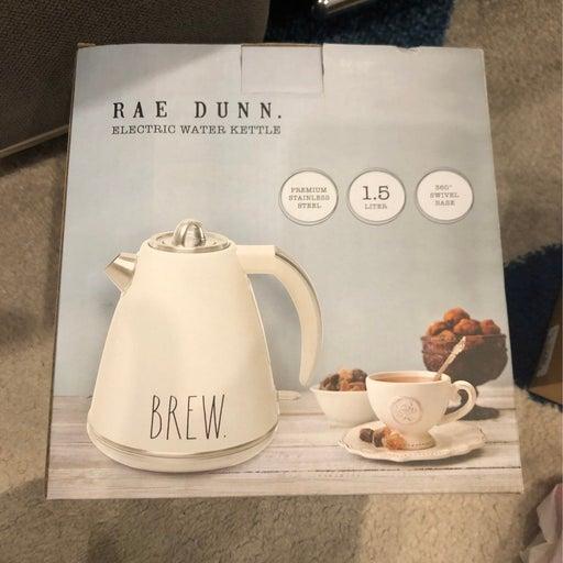Rae Dunn BREW Electric water tea Kettle