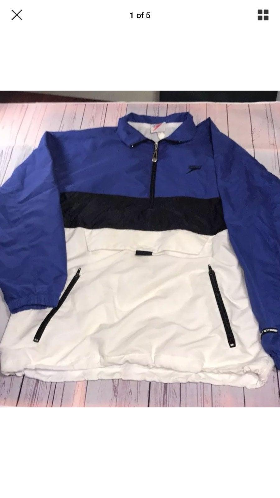 Speedo Color Block Jacket Large Men