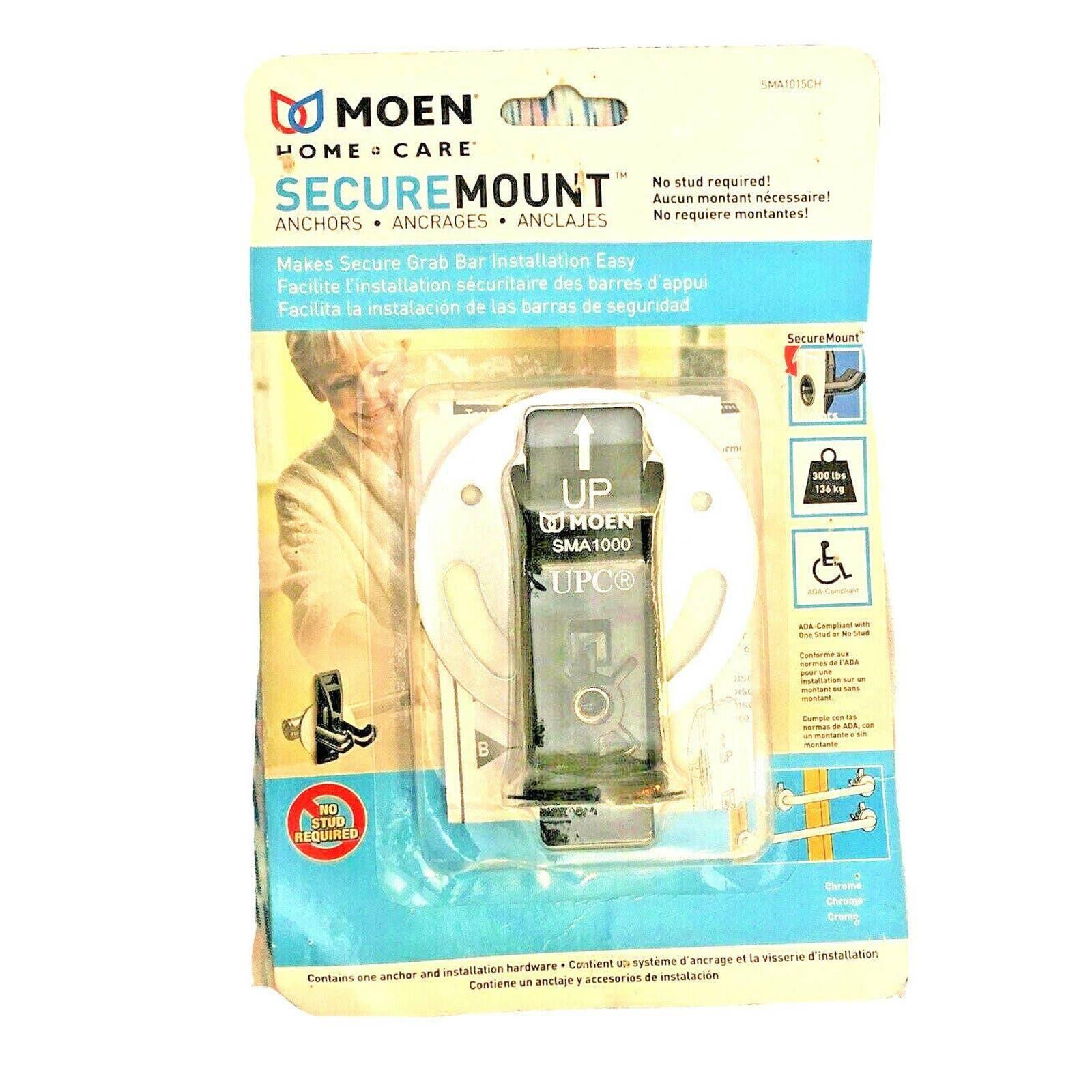 MOEN SMA1015CH Grab Bar Secure-mount SS