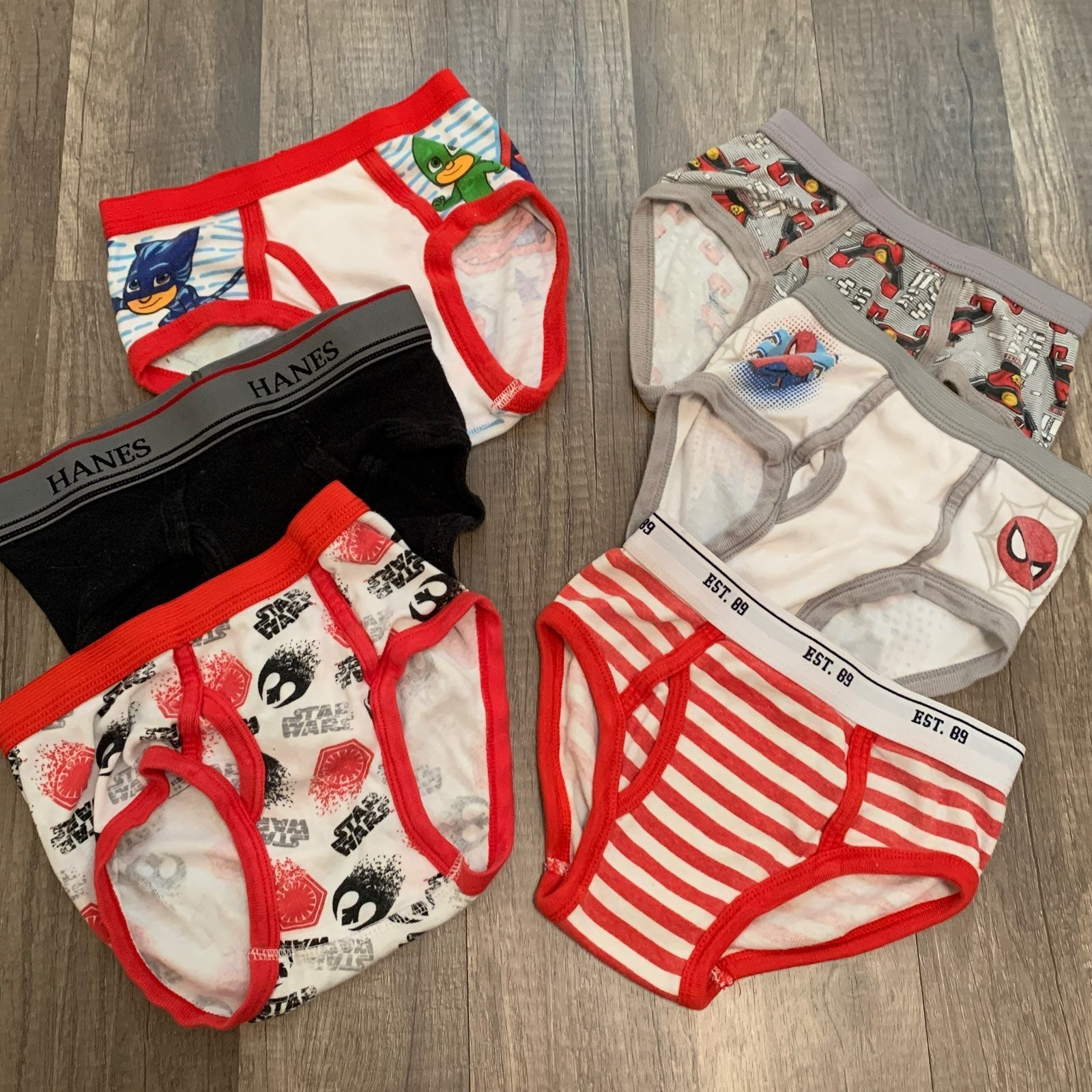 Toddler Boys Underwear Briefs Sz 4T