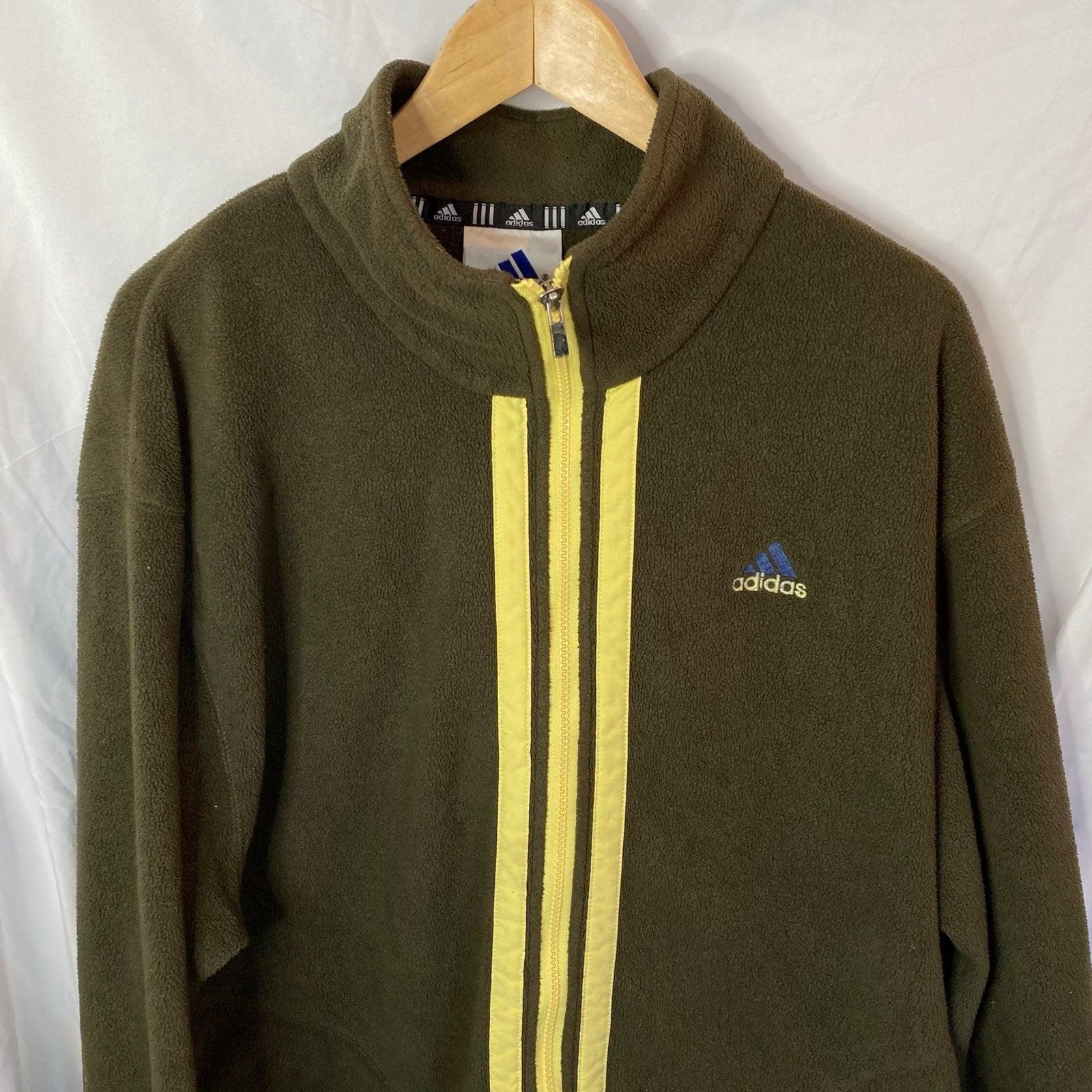 Vintage 90s Adidas Fleece Jacket