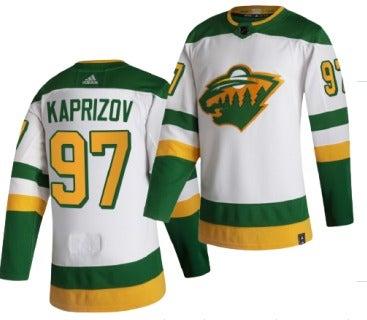 Kirll Kaprizov Reverse Retro Jersey