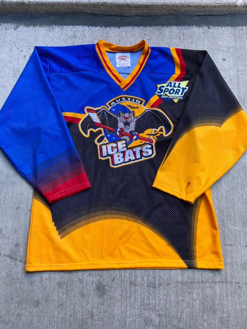 Vintage Austin Ice Bats Hockey Jersey