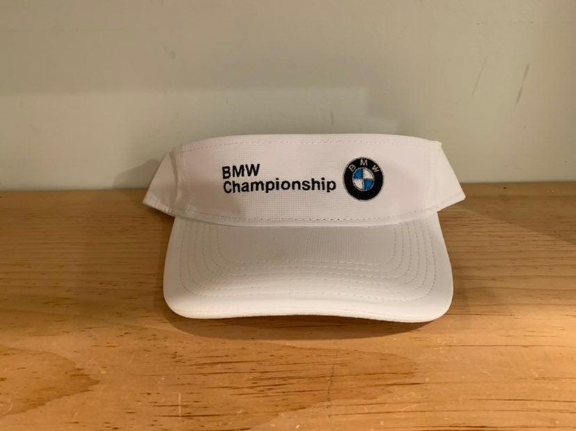 BMW championship White Visor cap