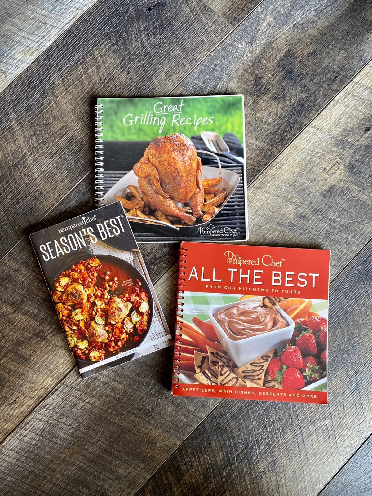 The Pampered Chef Cookbooks
