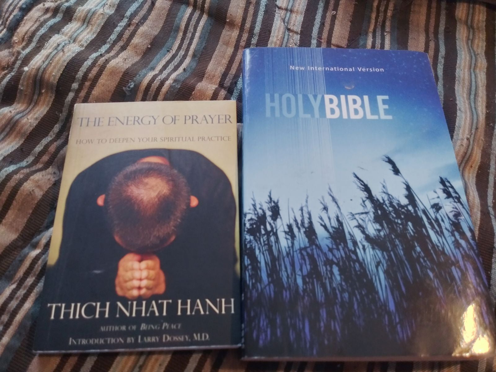 The power of prayer/the holy bible