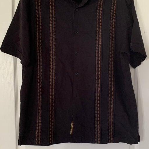 Men's Cubavera shirt men large