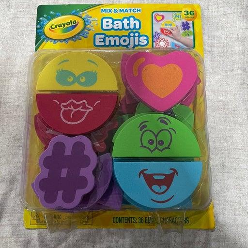 Crayola bath time emojis set