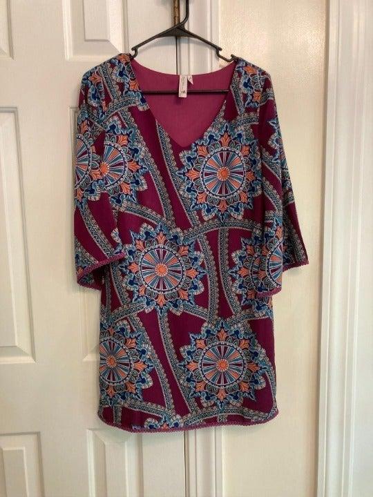 Pink Owl Sheath dress