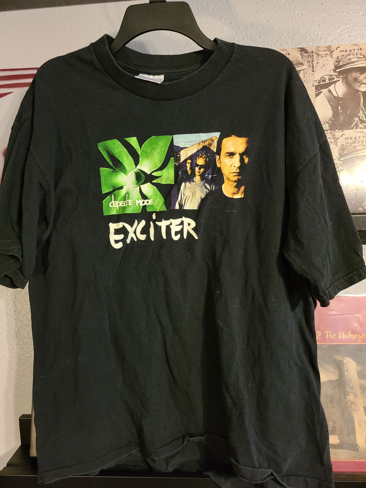 Vintage depeche mode tour t-shirt