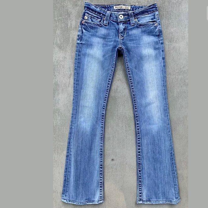 VTG Big Star Sweet Ultra Low Rise Jeans