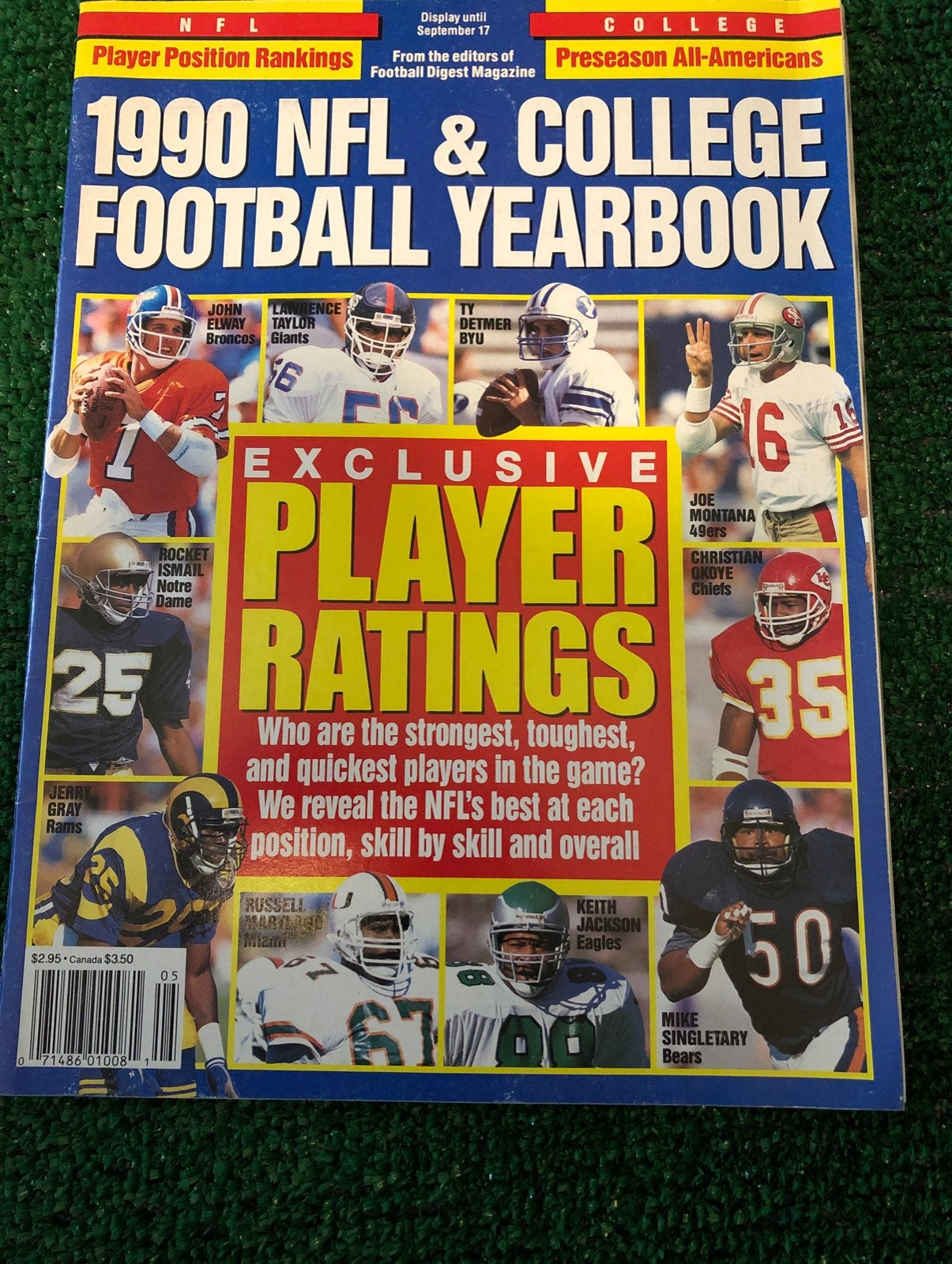 1990 NFL & College Football Yearbook
