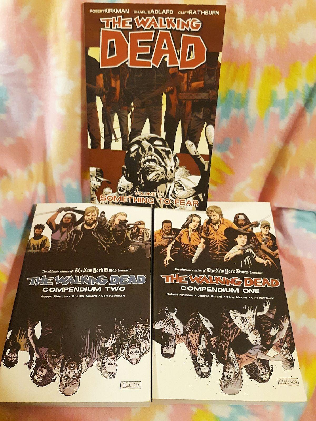 Walking Dead Compendium 1 & 2, plus v.17