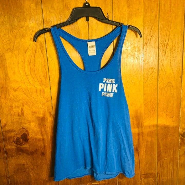 Victoria's Secret PINK Blue Tank Top S