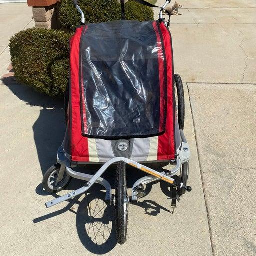 Chariot cougar bike trailer