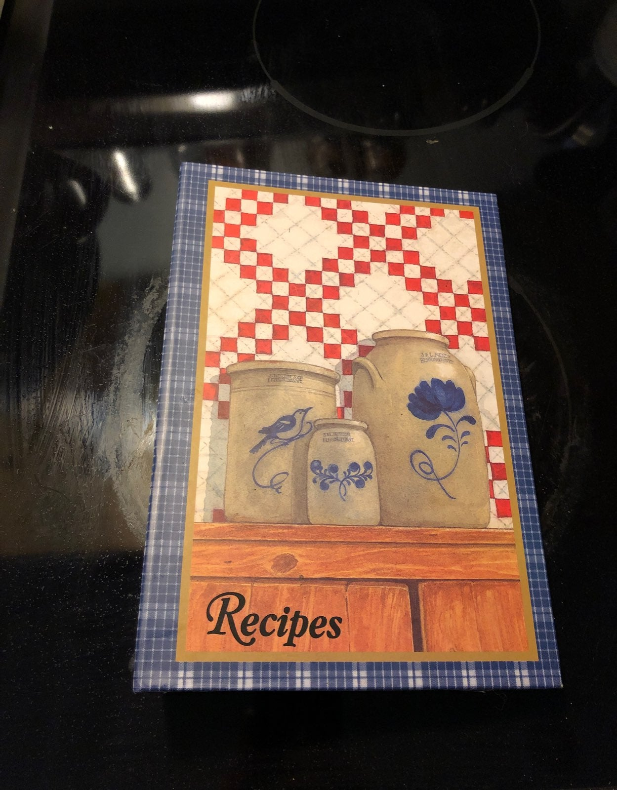 Recipes binder