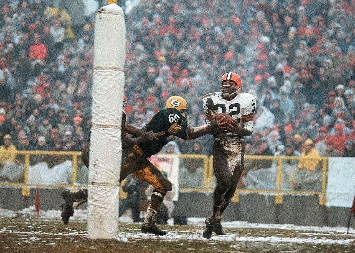 Jim Brown Cleveland Browns 8x10 photo