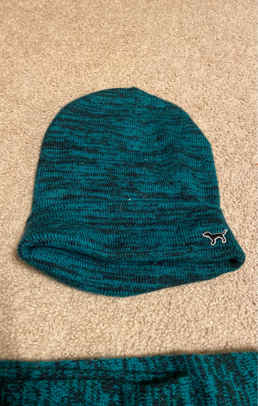 Bnwot Beanie and matching infinity scarf
