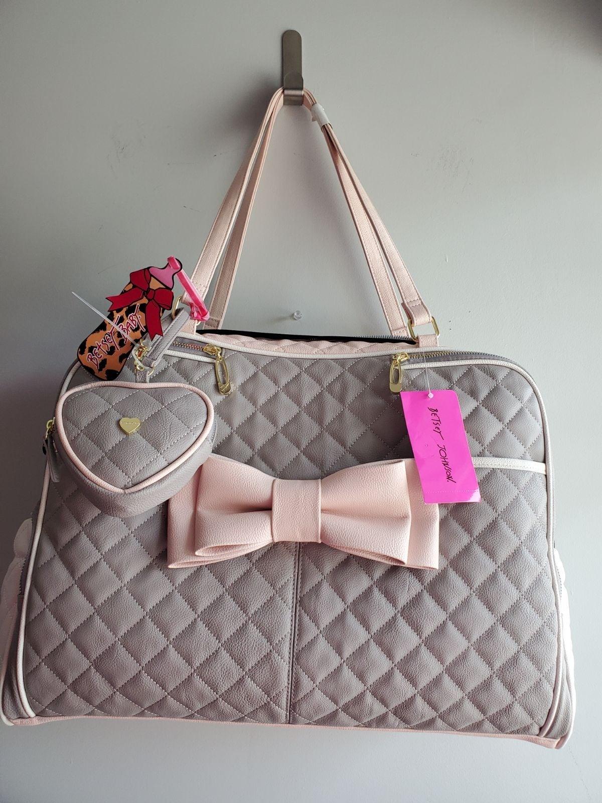 Betsey Johnson BOW Diaper Bag