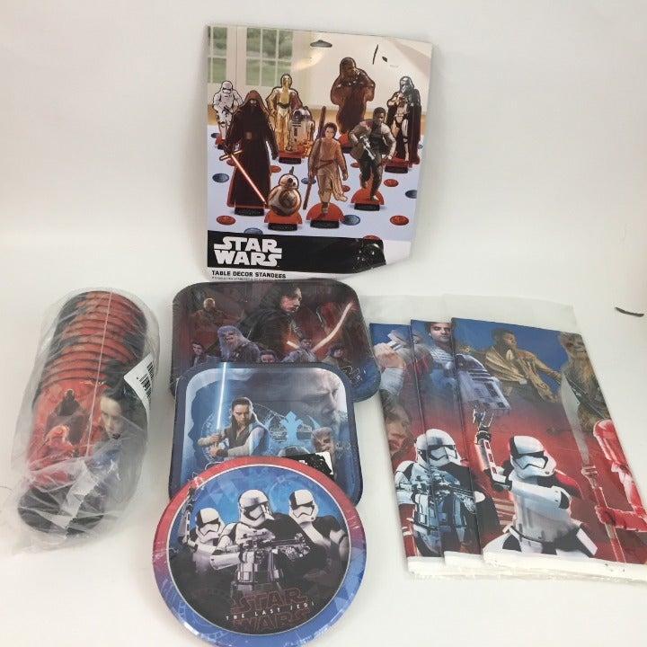 Star Wars The Last Jedi  Birthday Supply