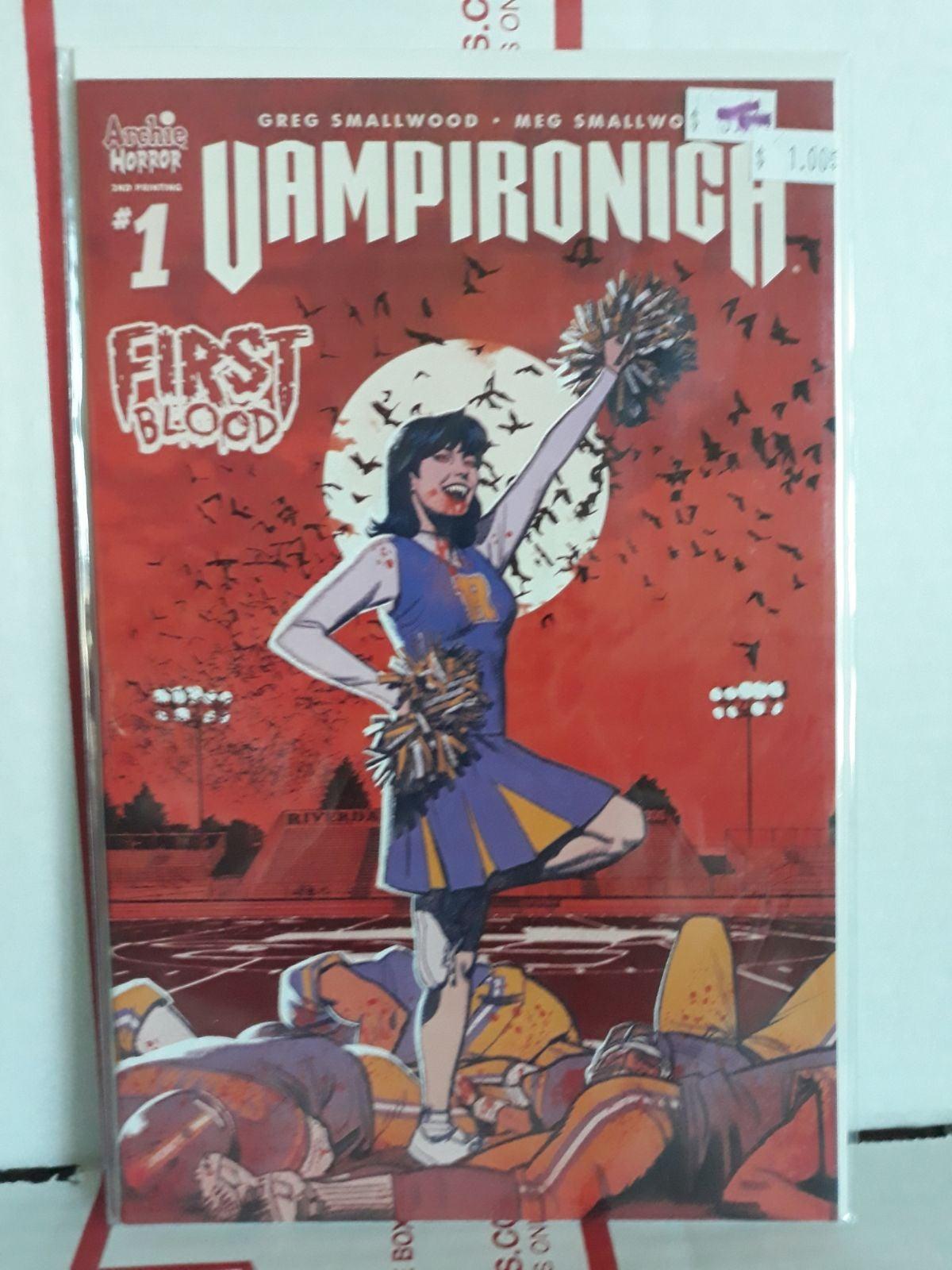 Vampironica #1 comic red variant