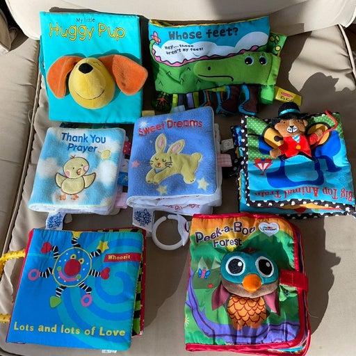 Cloth Baby Books Photo Album Sensory Toy
