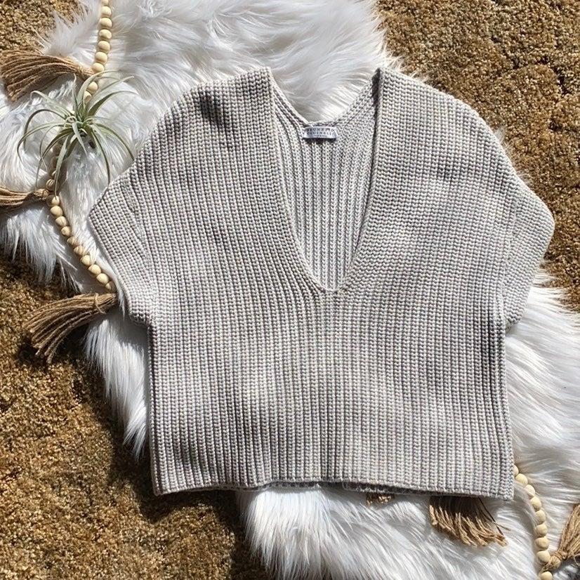 Brunello cucinelli knitted braid sh1rt