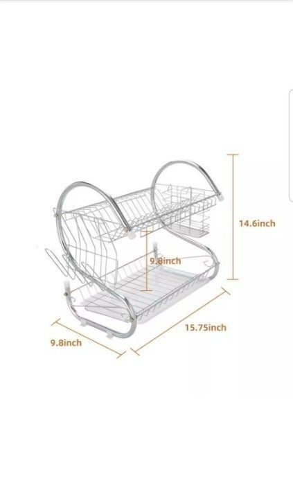 New Dish Drying Rack Kitchen Appliance