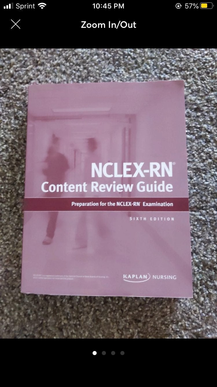 Kaplan Nclex study guide and the basics