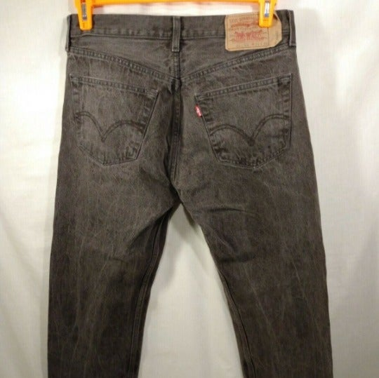 Vintage Levi Strauss 501XX Charcoal Wash