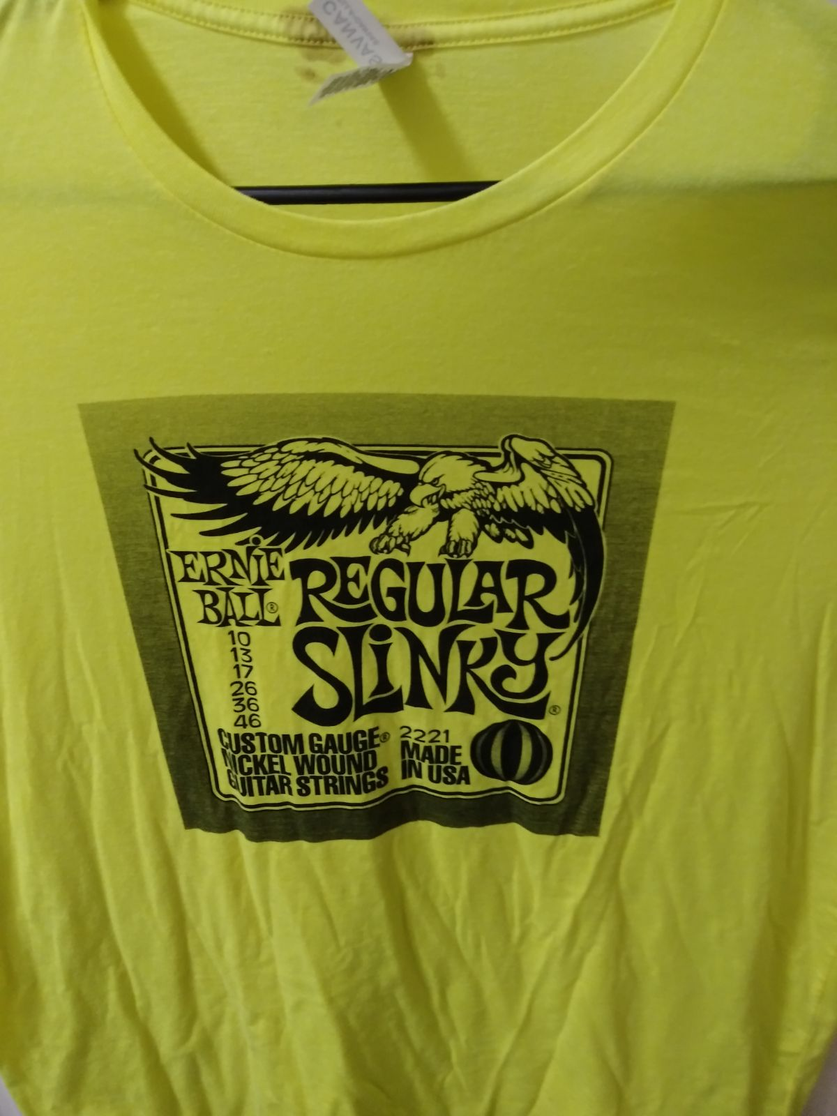 Ernie Ball Guitar Strings Tshirt