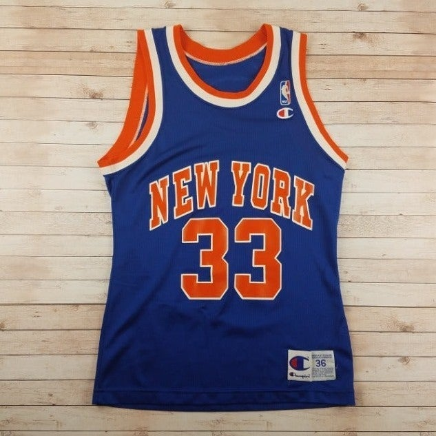 VTG 90s Patrick Ewing NY Knicks Jersey