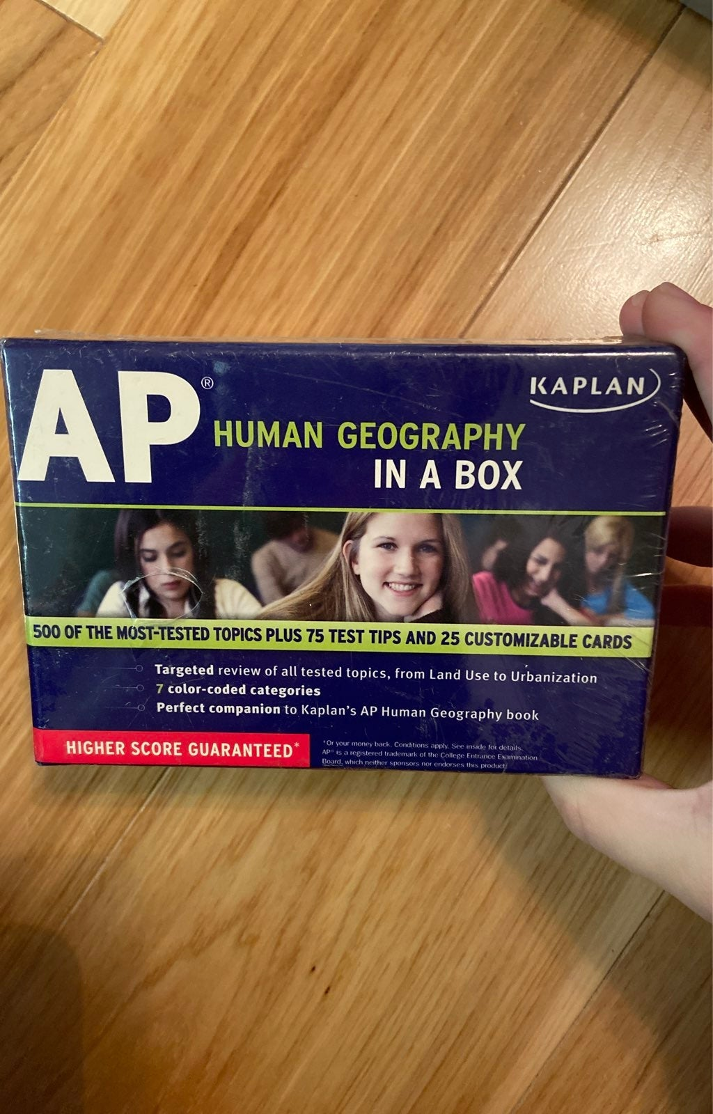 AP human geography study cards