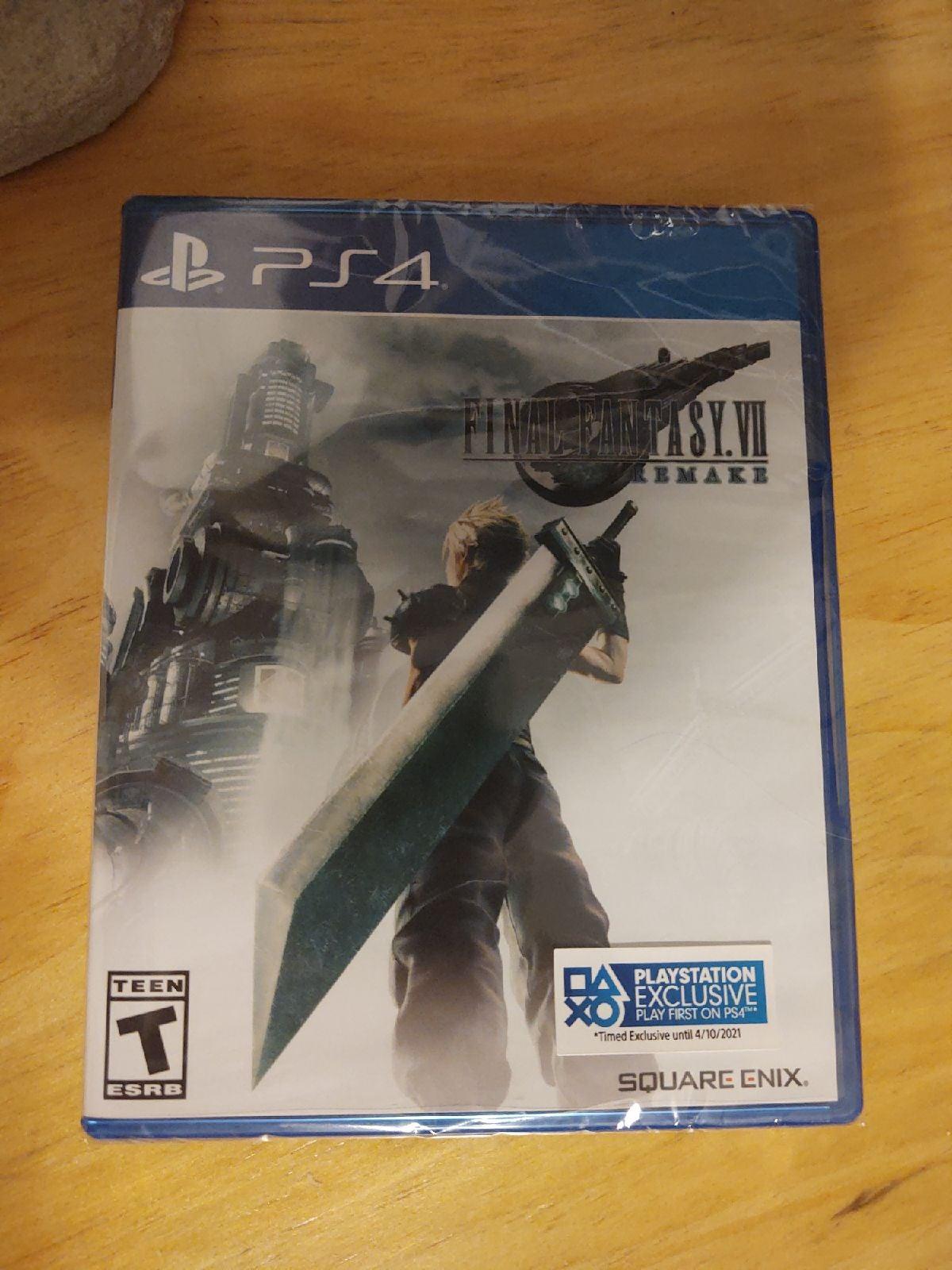 Final Fantasy 7 Remake Sealed