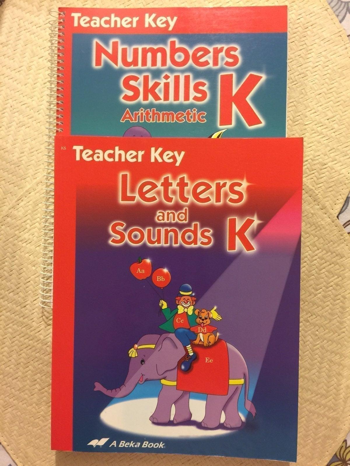Abeka kindergarten letters and sounds-nu