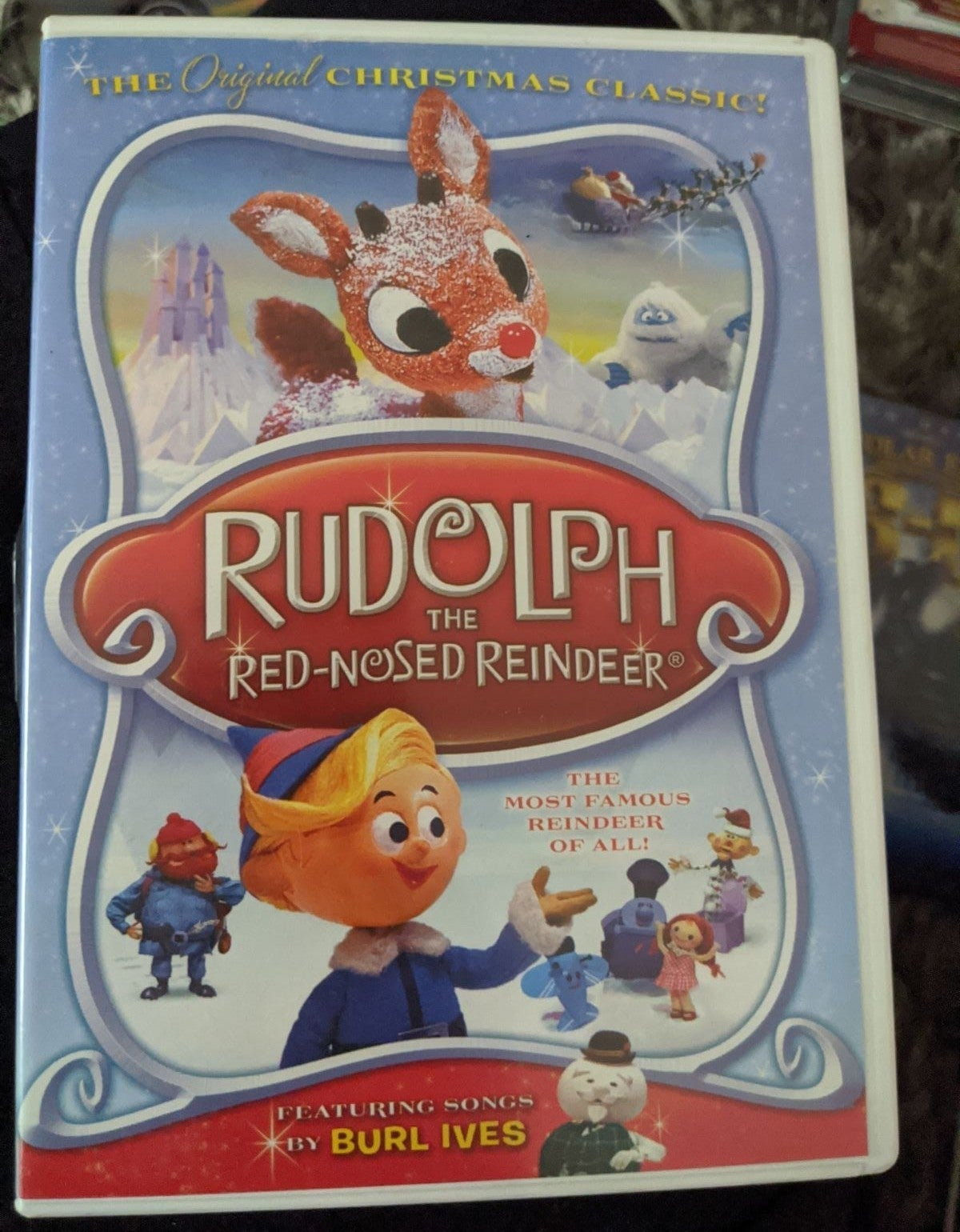 Rudolph the Red Nose Reindeer DVD